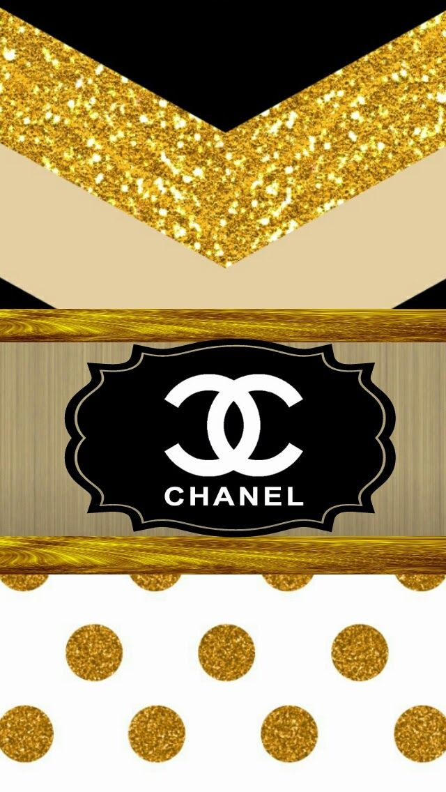 c0ab68cbc672 Top 4 Gold Chanel Iphone Wallpaper Sweety Wallpapers