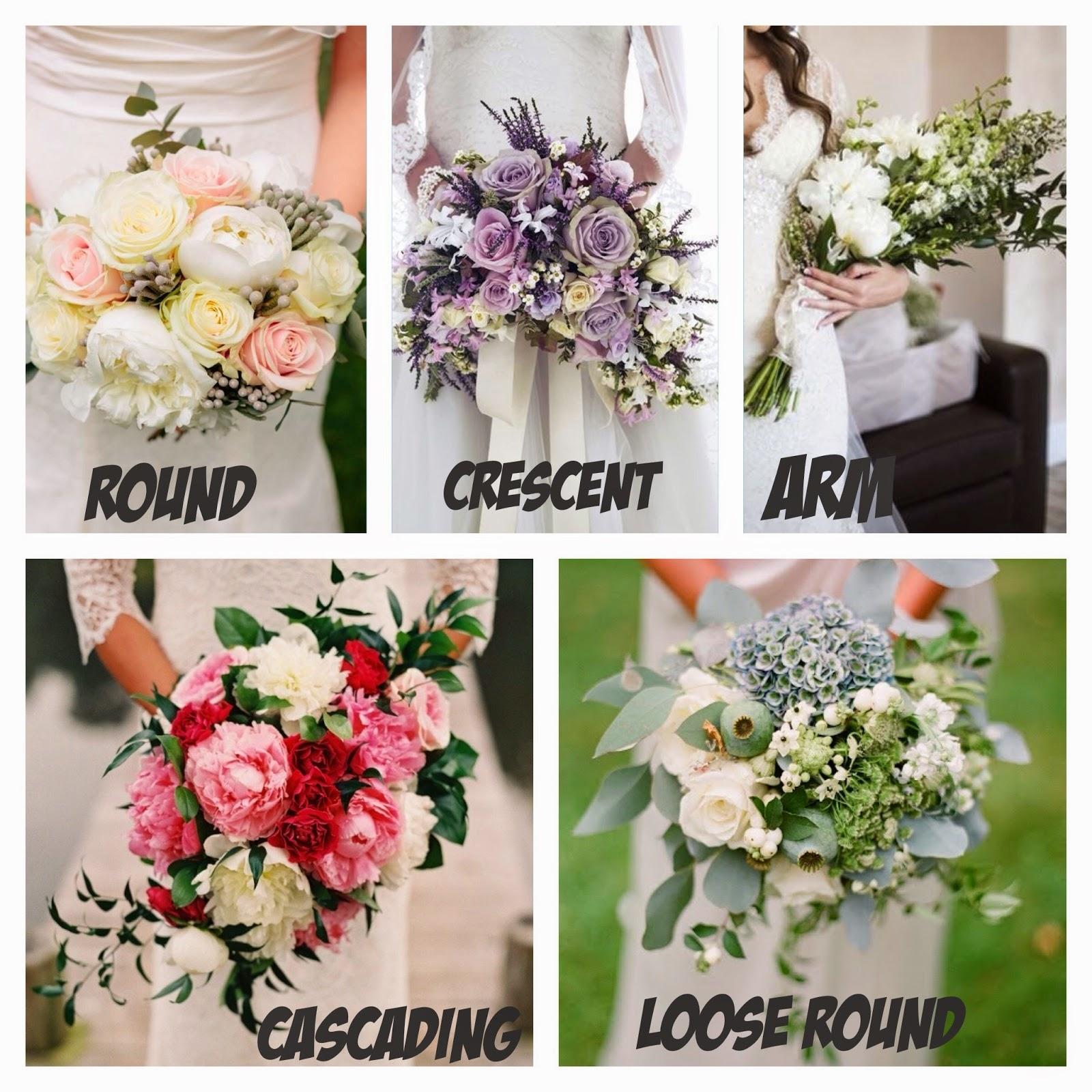 Wedding Bouquet Flower Types: Love Greyson : {Wedding Series 101}:: Bouquet Style 101