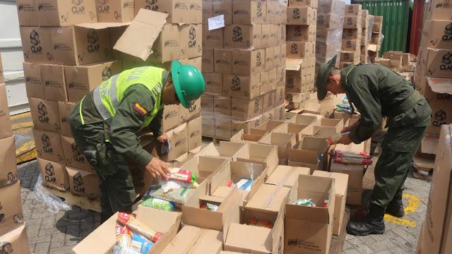 35 contenedores llenos de cajas CLAP llegaron a La Guaira - Recuerden que esos alimentos son cancerígenos