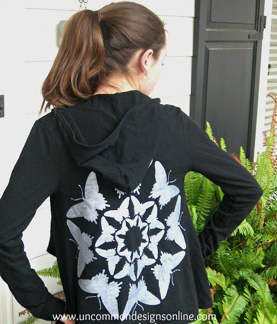 stenciled-hoodie-refashion