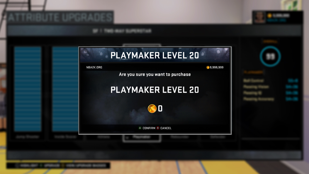 NBA 2K16 Cheat Table Patch 6: Badges, Upgrades, Attributes, Sliders