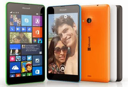 Ponsel Pertama Microsoft Lumia 535 Kamera 5 MP
