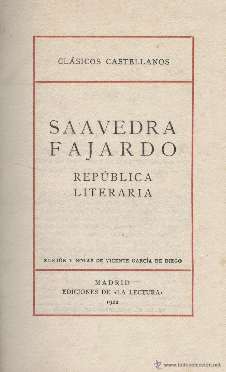 Saavedra Fajardo