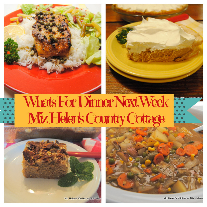 Whats For Dinner Next Week * Week of 2-21-21