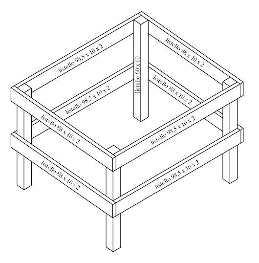 Come costruire un tavolo da ping pong con un p di pazienza e un minimo di ma - Costruire tavolo ping pong ...