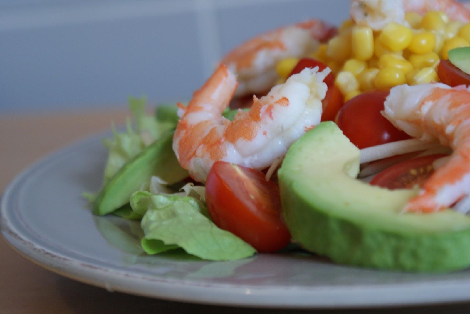 pomme and co salade crevettes avocat 450 calories. Black Bedroom Furniture Sets. Home Design Ideas
