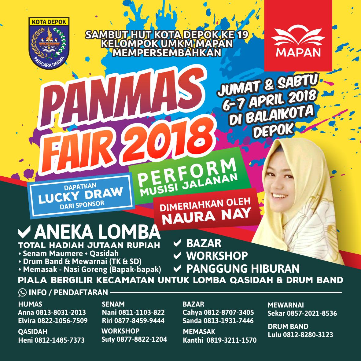 Panmas Fair 2018 - Pancoran Mas Fair Mapan Depok