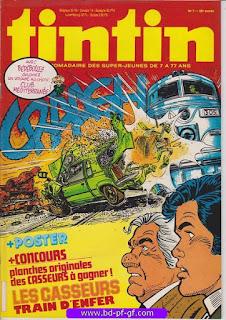 Tintin-numéro 7, année 38, 1983, Les Casseurs
