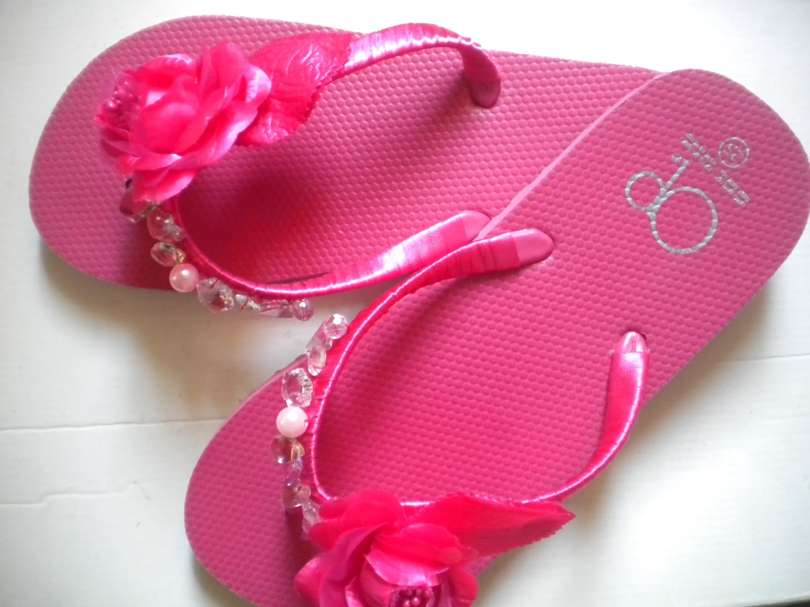 flipflops diy verano chic tutorial