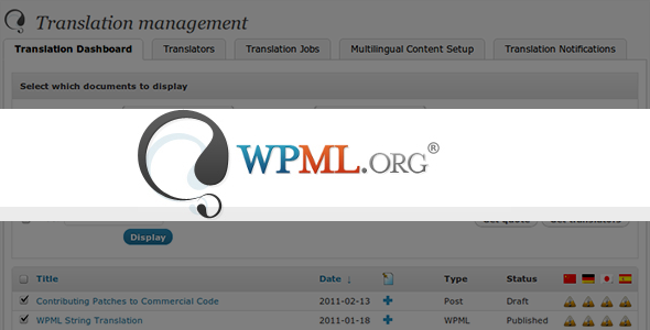 WPML v3.3.6 – WordPress Multilingual Plugin + All Addons