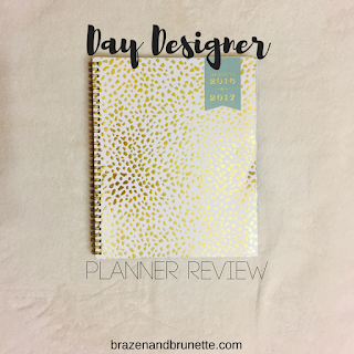 Day Designer planner review | brazenandbrunette.com