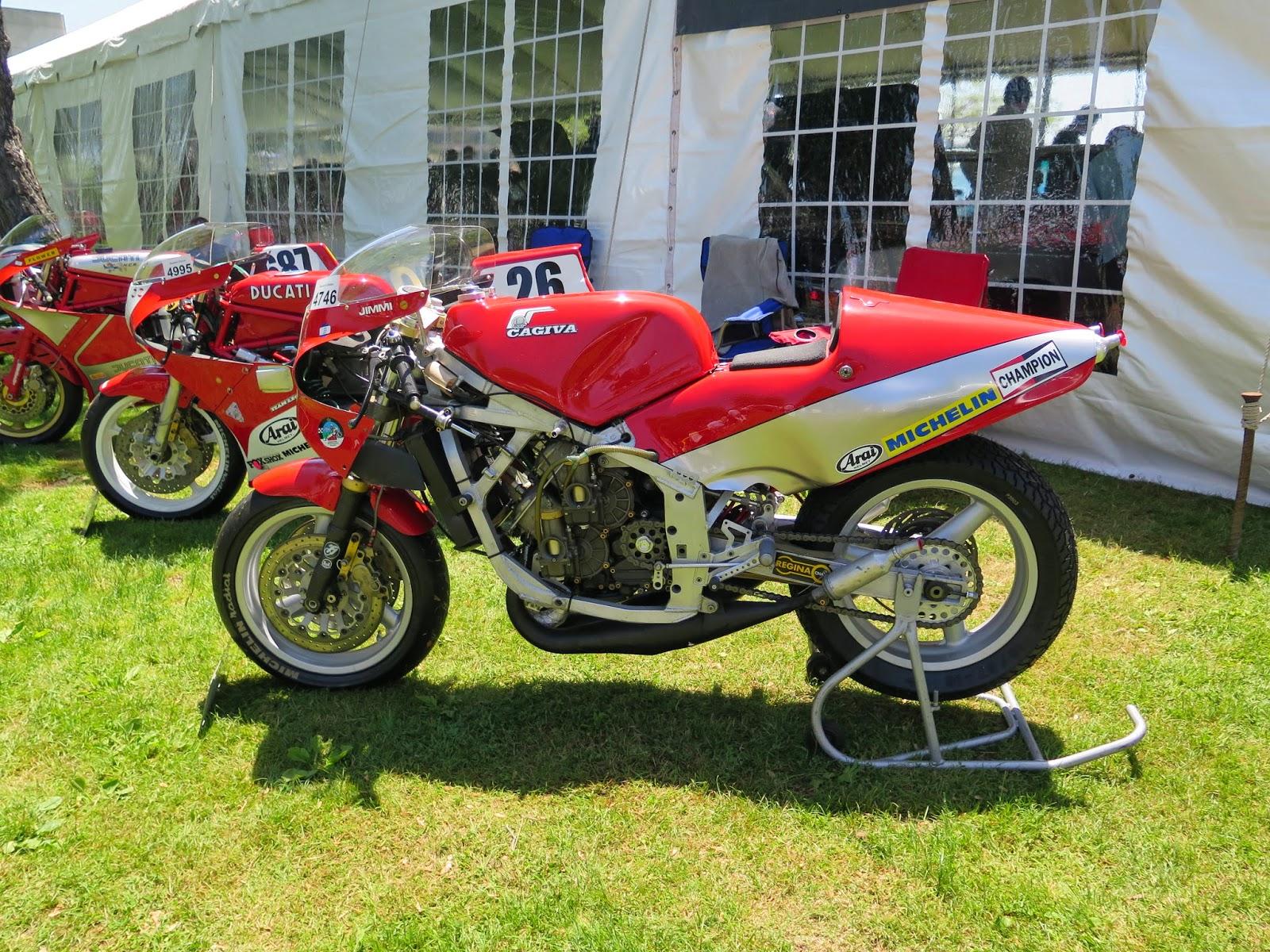 1984 Cagiva 500 GP Two Stroke - Left Side - Moto Bellissima