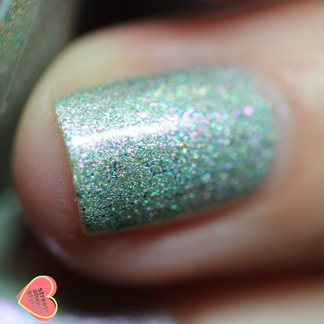 Girly Bits Shell Yeah swatch by Streets Ahead Style