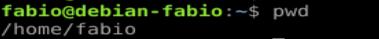 Comando pwd no Linux - descobrir o diretório atual