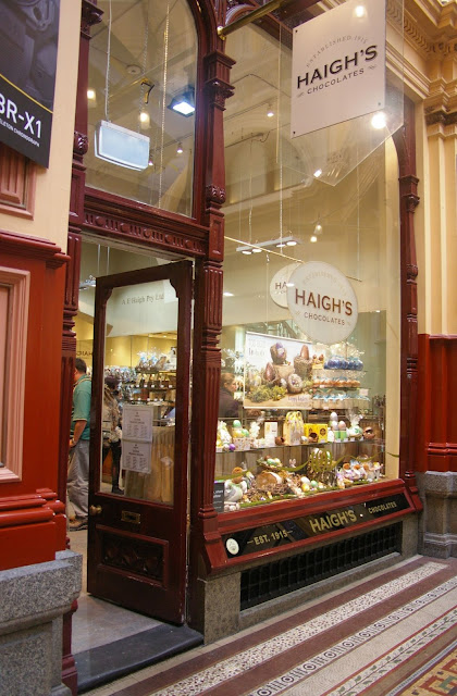 Haighs in the Block Arcade
