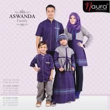 Baju Muslim Ayah Ibu Dan Anak Perempuan