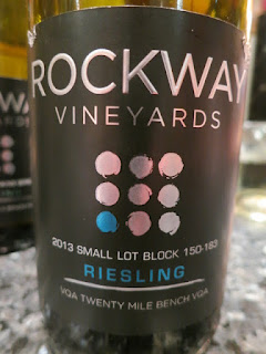 Rockway Vineyards Small Lot Block 150-183 Riesling 2013 (90 pts)