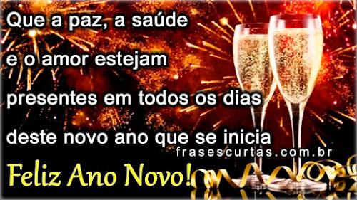 Mensagem de Ano Novo Facebook
