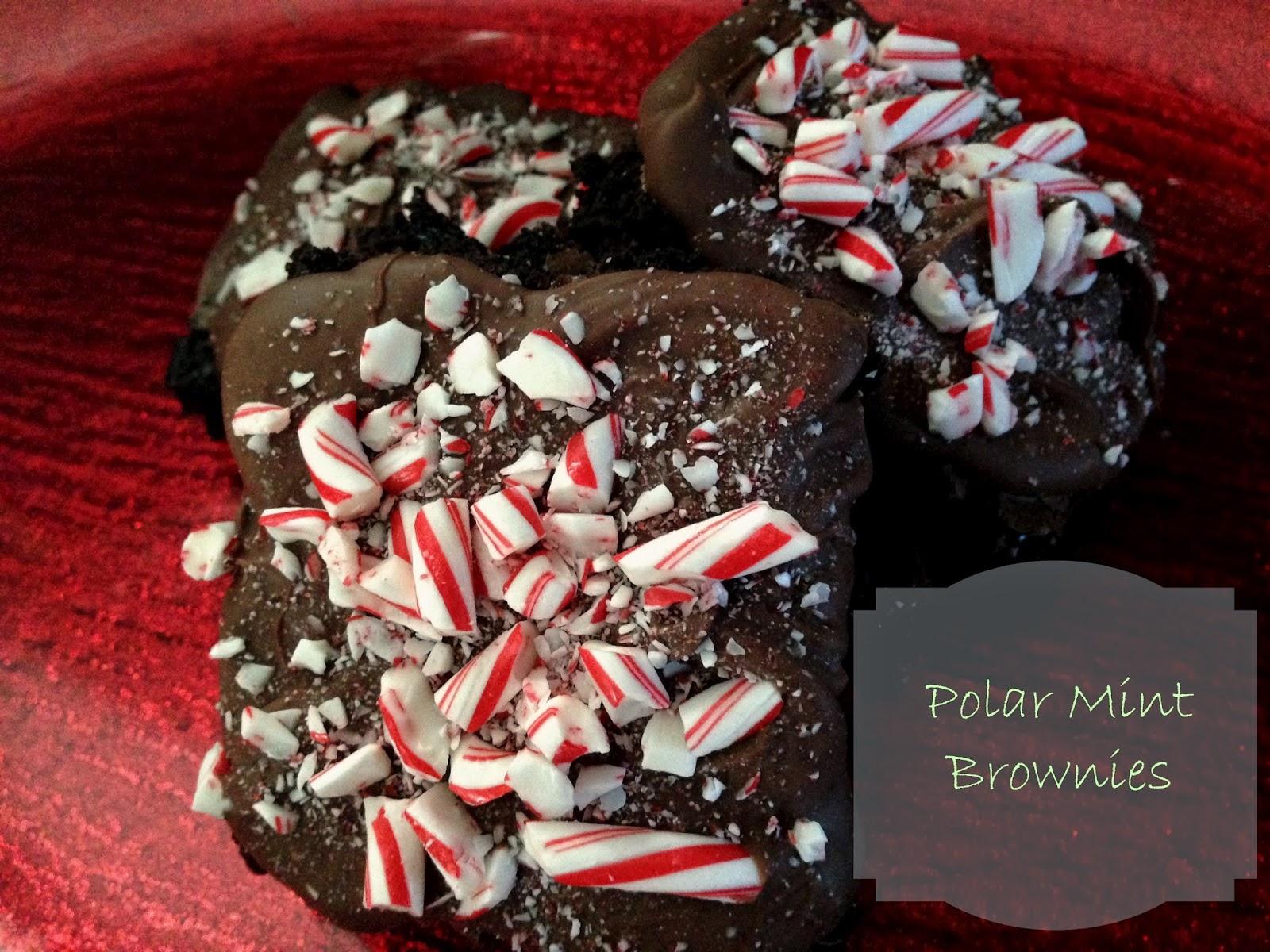 Polar Mint Brownies