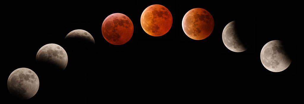 What are Blood Moons and its Impact on Nations - Research Study on tetra Blood Moon Eclipses based on Vedic Mundane Astrological Principals - The 4 Blood Moon Eclipses, Series of Mundane events and era of Transformations