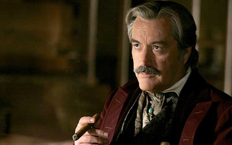 Powers Boothe starred in Tombstone as Curly Bill.