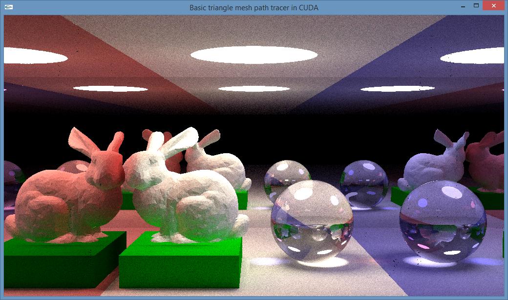Ray Tracey's blog: GPU path tracing tutorial 2: interactive