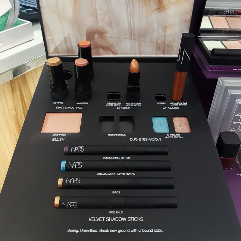 NARS Wildfire Spring 2017 Makeup Collection Photos Swatches