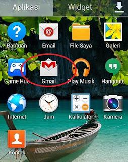 Aplikasi Gmail di HP Android