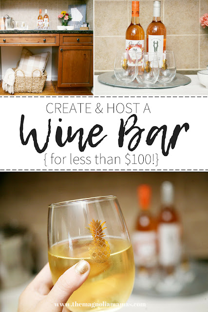 How to create and host a wine bar for under $100