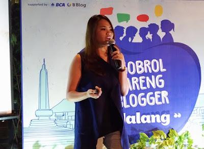 BCA Ngobrol Bareng Blogger Malang
