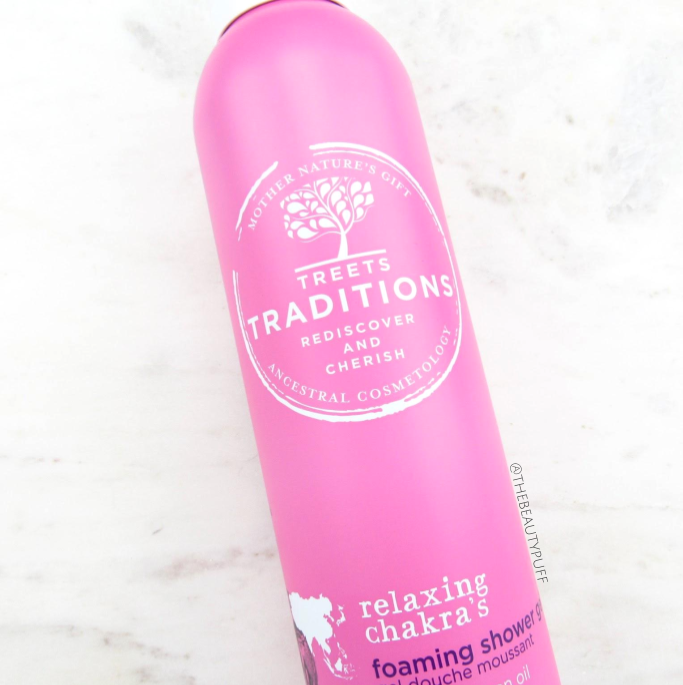 treets traditions shower gel | the beauty puff