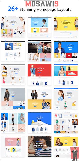 أفضل قالب شوبيفاي لسنة 2019 - Shopify theme