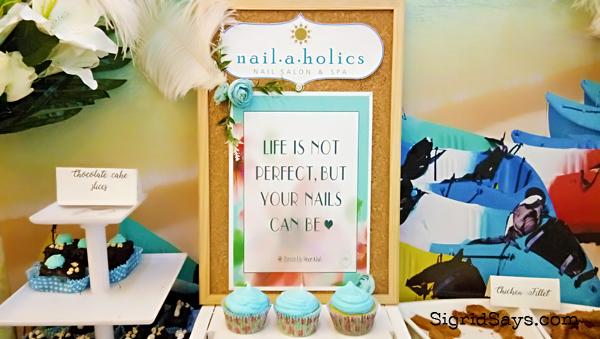 Nailaholics - perfect nails quote