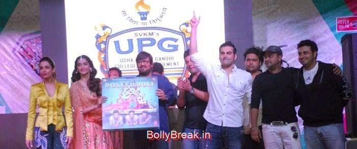 Malaika Arora Khan, Sonam Kapoor, Wajid Ali, Varun Sharma, Arbaaz Khan, Sajid Ali, Sonam Kapoor, Maliaka Arora Khan Hot Pics At 'Dolly Ki Doli' Music Launch