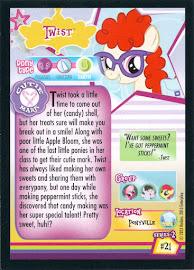 My Little Pony Twist Series 2 Trading Card