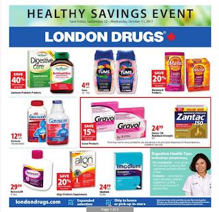 London drugs Canada flyer September 22 - October 11, 2017