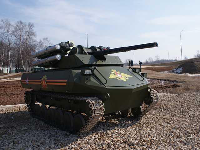 10 Tahun Mendatang 30 Persen Kekuatan Militer Rusia Akan Terdiri Robot Mematikan