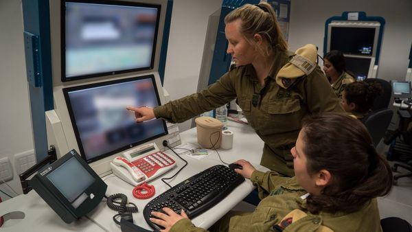 Uno de los centros de control de las Fuerzas de Defensa de Israel en la frontera con Líbano (FDI)