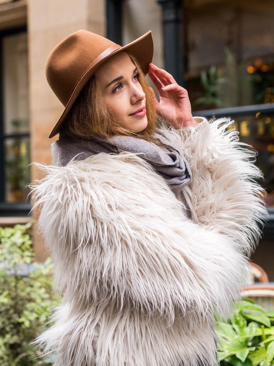 H&M Premium Collection wool hat - huopahattu