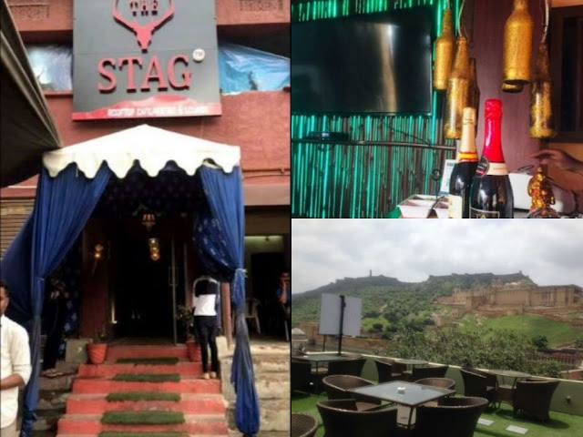 Cafes near me | The Stag rooftop Cafe, Amer, Jaipur
