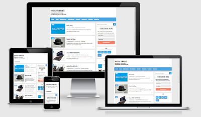 RBZ One Responsive Blogger Template