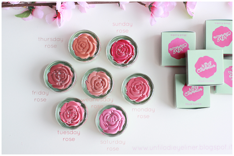 Neve Cosmetics - Blush Garden: Preview