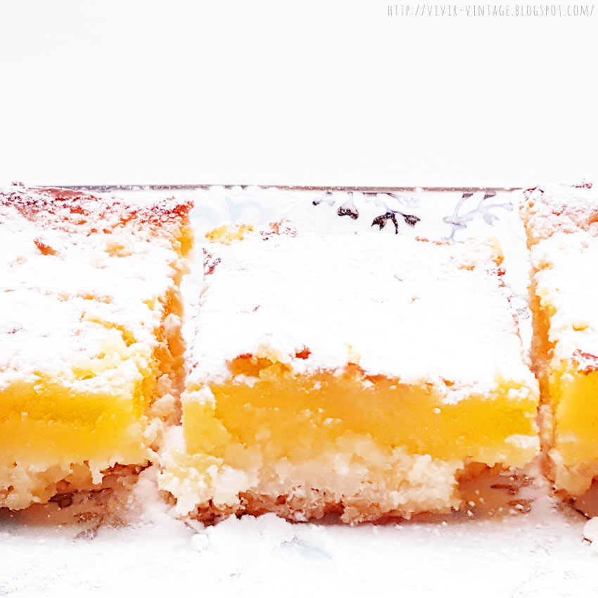 lemon bars sin gluten
