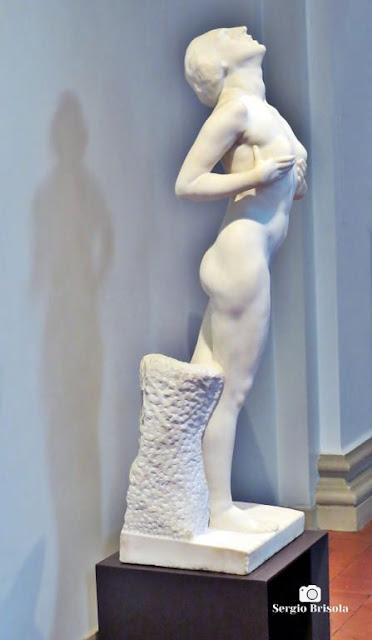 Close-up da Escultura Sapho - Pinacoteca de SP - Luz - São Paulo