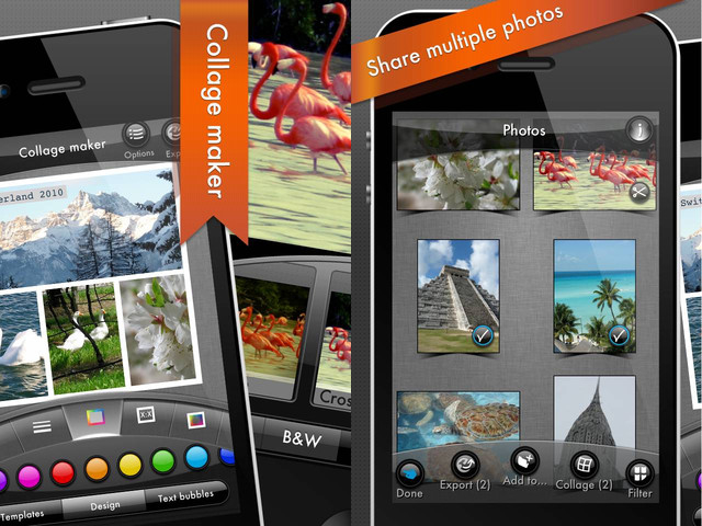 Mobile apps for photographers Photogene