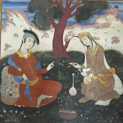 A richly detailed painting which depicts religious or mythological themes and can only be achieved with a very fine hand is known as miniature