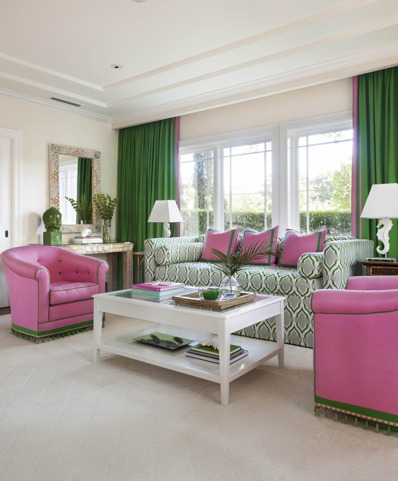 Preppy Bedroom Ideas Coastal Style Pink Amp Green Preppy Style