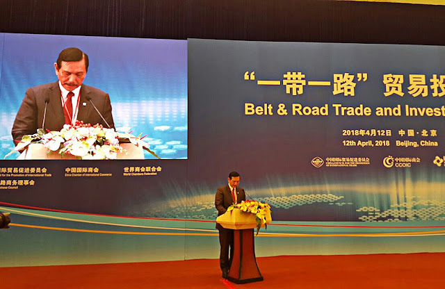 Luhut Datang, Bisnis dengan China US$23,3M Deal