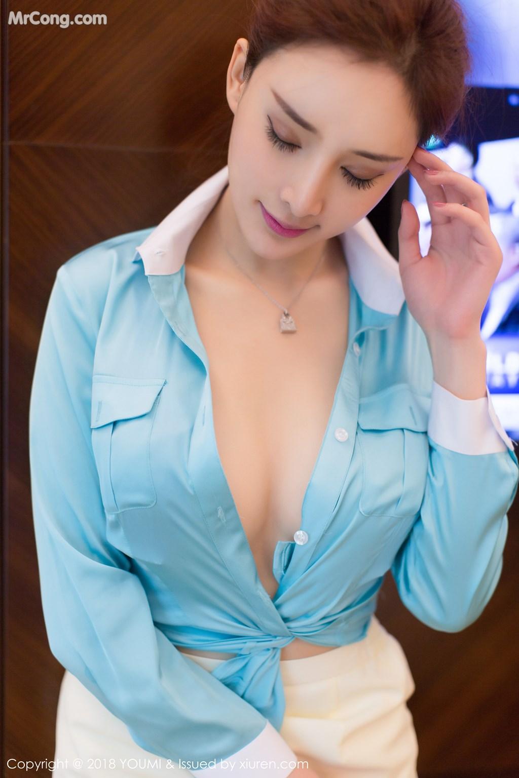 Image YouMi-Vol.112-Tu-Fei-Yuan-Ai-Cuo-Qiong-MrCong.com-044 in post YouMi Vol.112: Người mẫu 土肥圆矮挫穷 (51 ảnh)