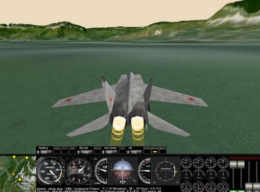 avião a jato Rigs of Rods